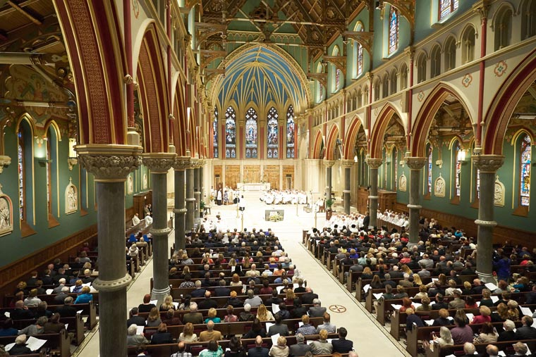 Bishop Cunningham to Celebrate Ash Wednesday Mass at the Cathedral of the Immaculate Conception