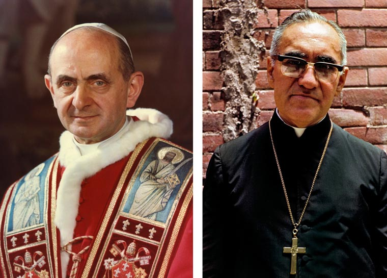 Pope to canonize Blesseds Paul VI, Oscar Romero in Rome Oct. 14