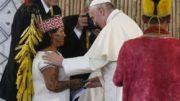 20180308T0950 15243 CNS POPE SYNOD AMAZON 180x101 - FILE PERU INDIGENOUS AMAZON