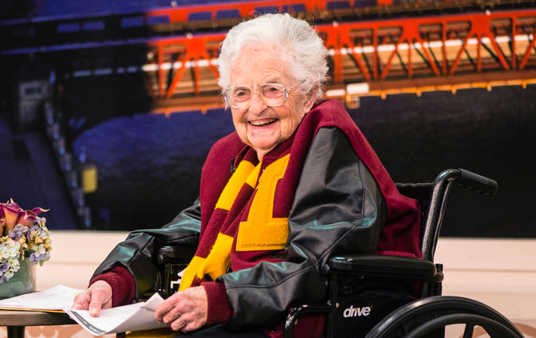 Sister Jean: on the sidelines and in the spotlight