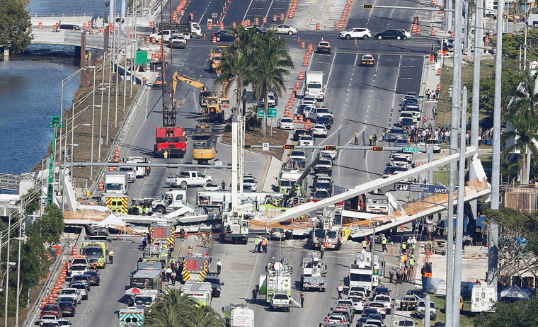 Miami Archdiocese offers prayers after bridge collapse