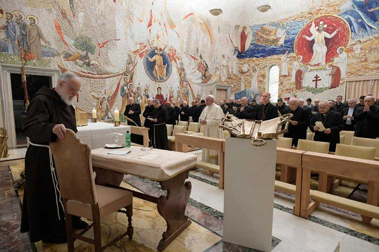 Purity is seen in how one treats oneself, others, papal preacher says