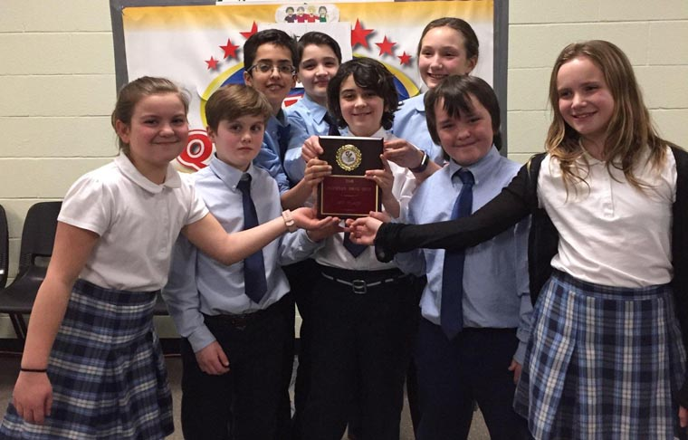 IC School takes first place in quiz