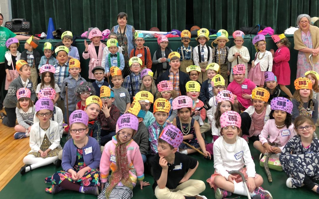 First graders in Broome County Catholic Schools celebrate 120 Days