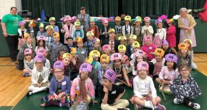 IMG 1050 300x160 - First graders in Broome County Catholic Schools celebrate 120 Days
