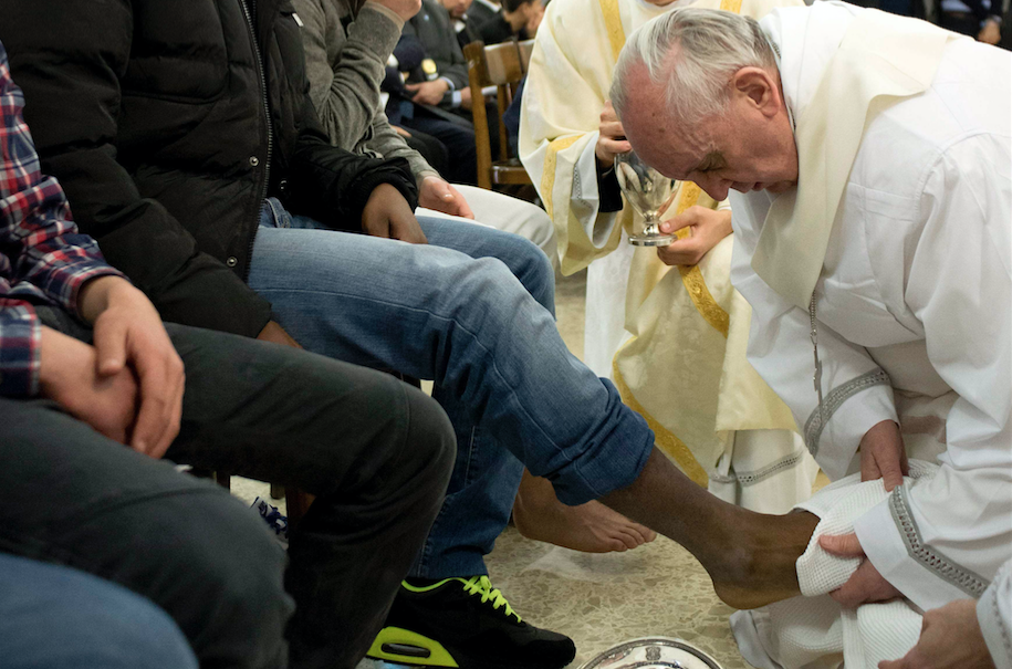 Pope to celebrate Holy Thursday Mass in Rome prison