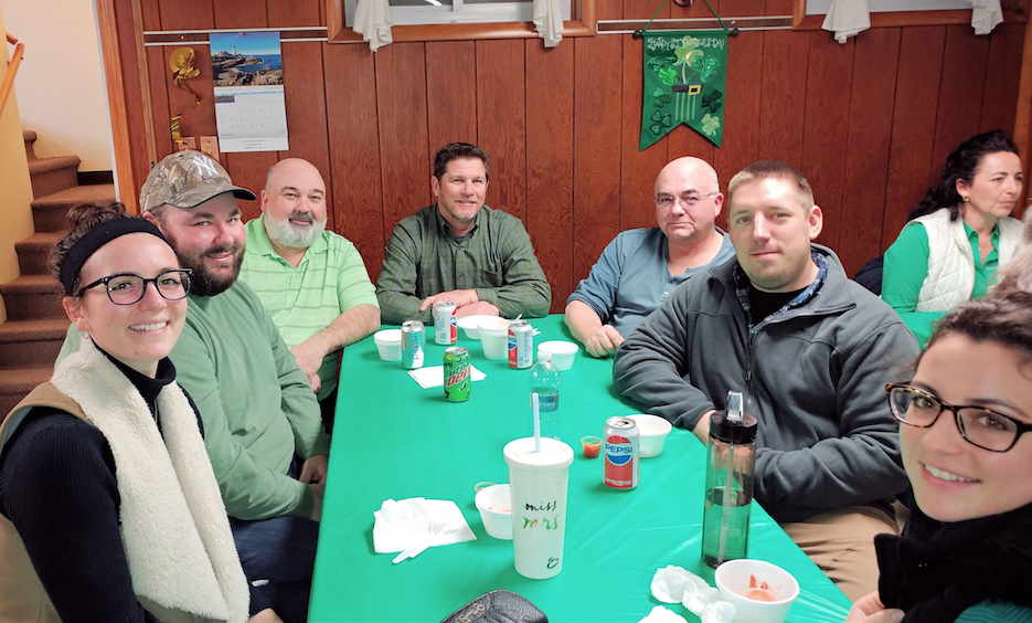 St. Patrick's in Taberg holds annual St. Patrick's Day Clambake