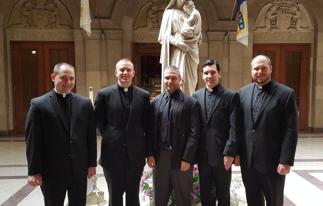 Diocesan seminarian instituted into ministry of Lector