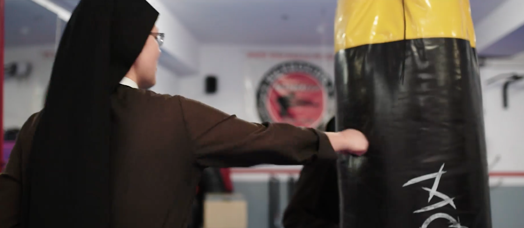 Sisters turn to boxing in video to raise funds for orphanage