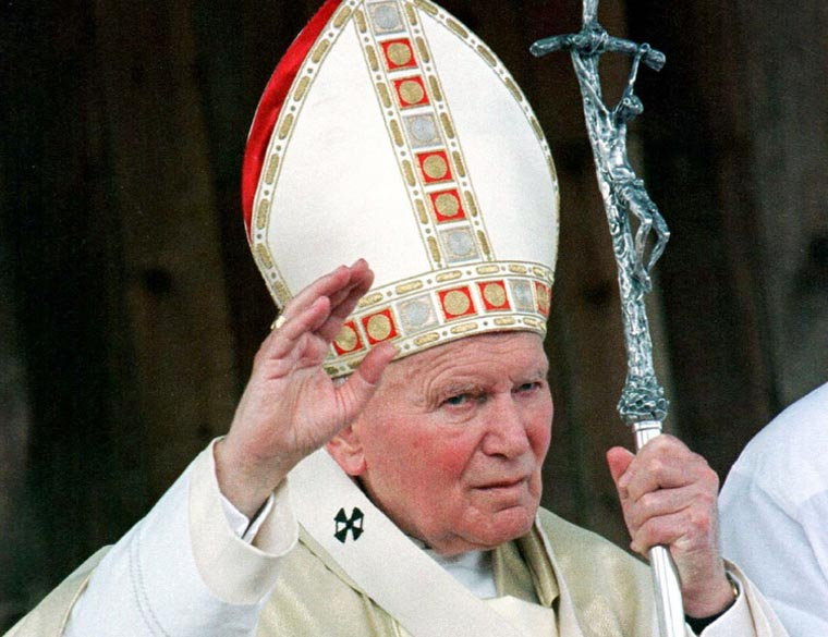 Manila Archdiocese receives relic of St. John Paul II's blood