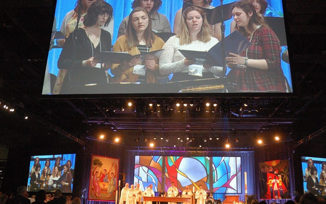 At annual convention, Catholic educators reminded of missionary roles