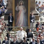 20180408T0742 60 CNS POPE DIVINE MERCY 1 150x150 - Seek, share God's mercy with the lost, unwanted, pope tells priests