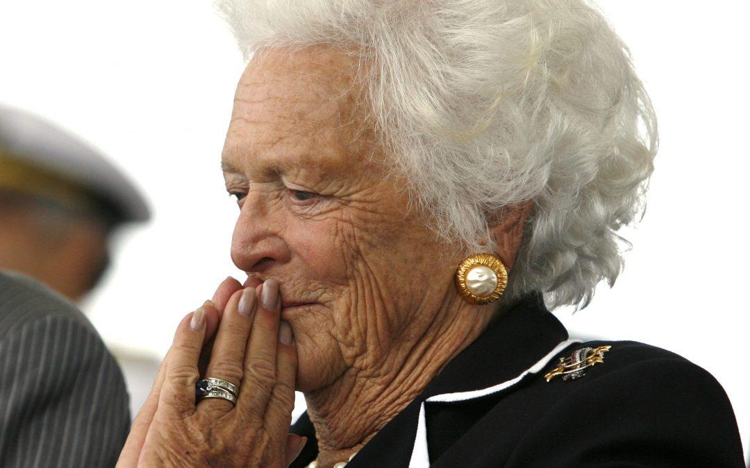 Catholic bishop pays tribute to Barbara Bush at Houston memorial