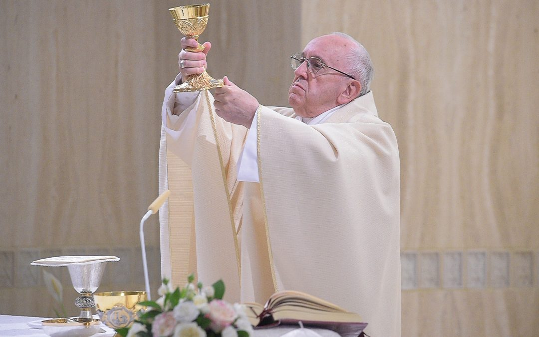 Pope: Without love, service, church is just an 'empty institution'