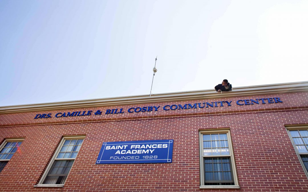 Baltimore Catholic school removes Cosby name from building