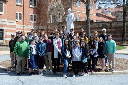 DSC 3058 edited 2 - Seton Catholic Central visits national Seton shrine
