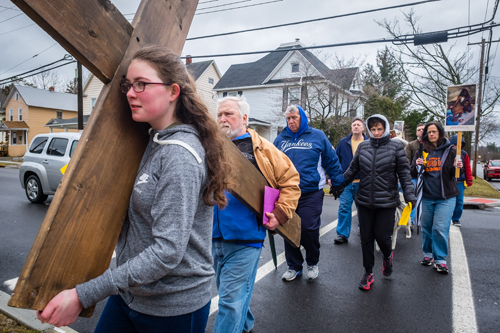 Good Friday witenesswalk 6 - Holy Week across the diocese