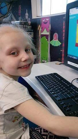 kaylee 1 - Brave kindergartner seeks to overcome cancer