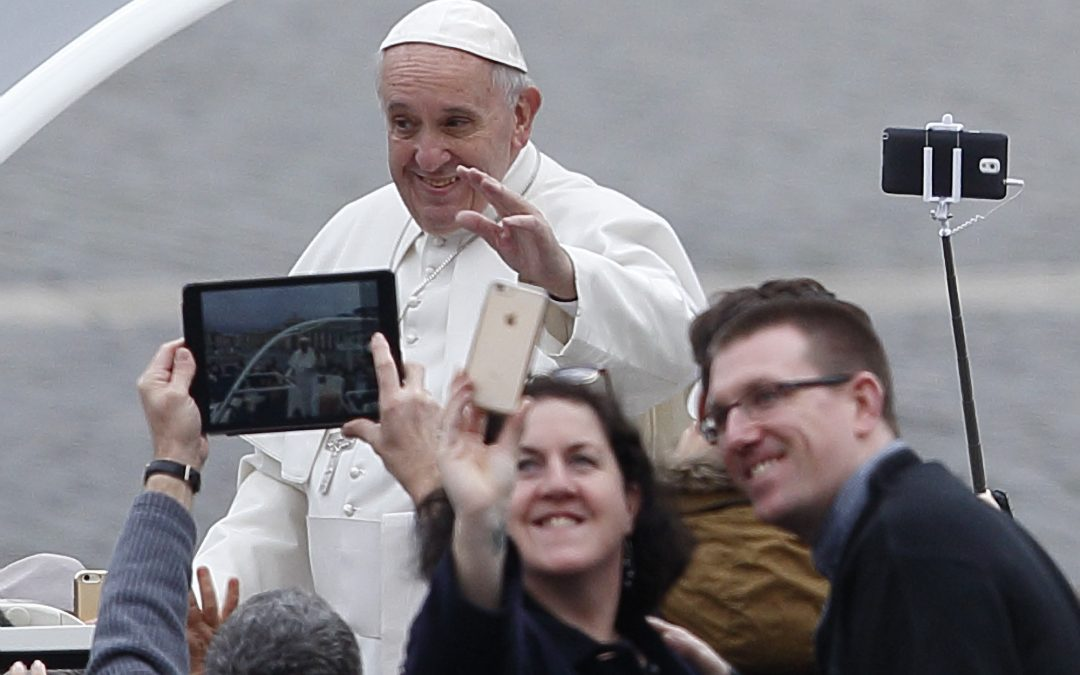 Catholic media must not fall behind in digital age, pope says
