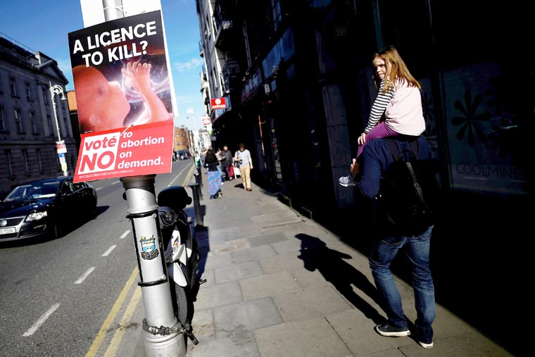 Irish pro-life campaigners criticize Google decision to ban campaign ads