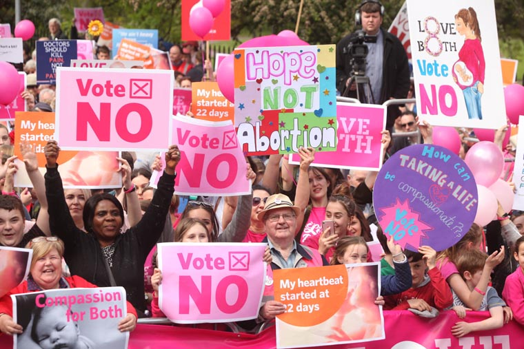 Some Irish believe lives were saved by country's prohibition on abortion