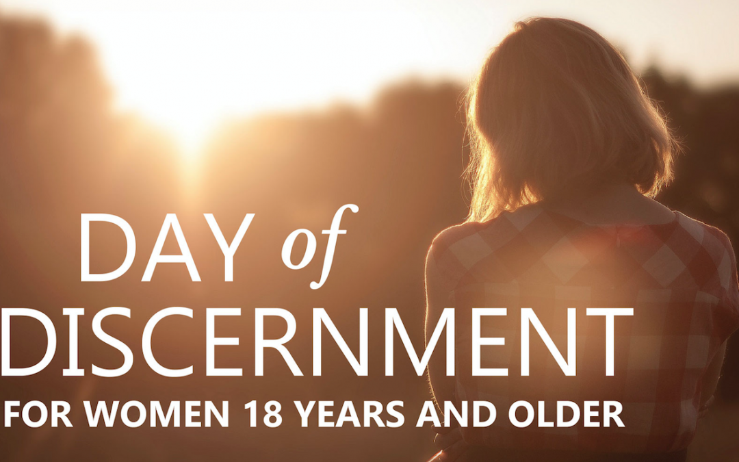 Religious congregations to offer day of discernment for women