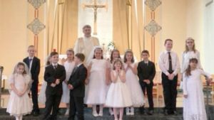 St Joseph Oswego 2018 first communion group color 373x210 300x169 - St-Joseph-Oswego-2018-first-communion-group-color-373x210