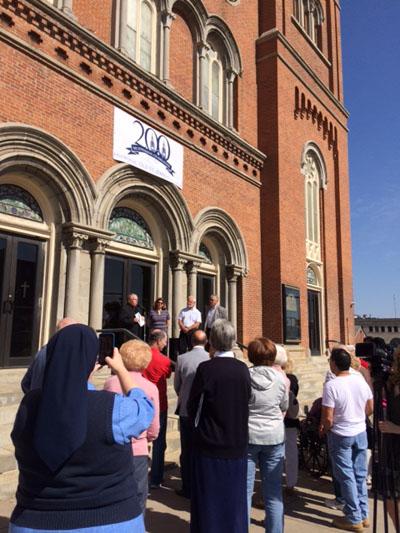 bicentennial - Historic Old St. John Church kicks off bicentennial celebration