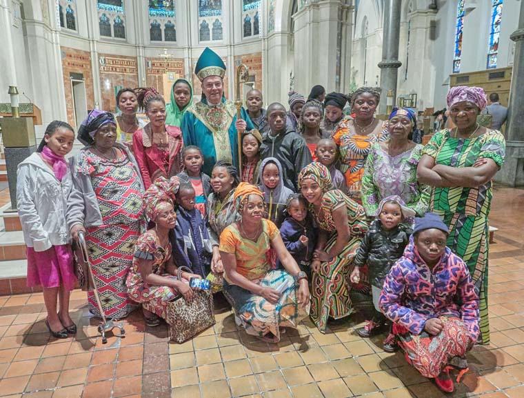 Bishop Cunningham to celebrate June 20th World Refugee Day Mass