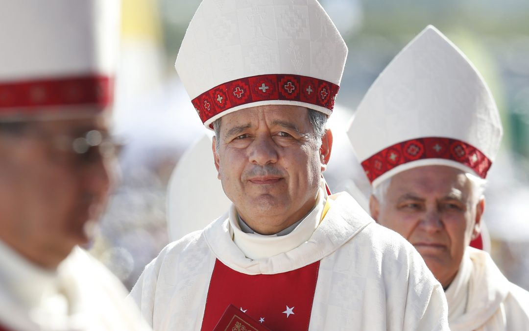 Pope accepts resignations of three Chilean bishops in wake of scandal
