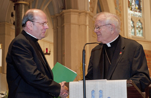 Cunningham Moynihan - A shepherd reflects: Bishop Robert J. Cunningham marks 75 years