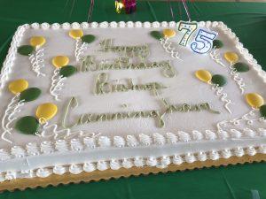 image4 300x225 - Bishop Cunningham celebrates 75th birthday