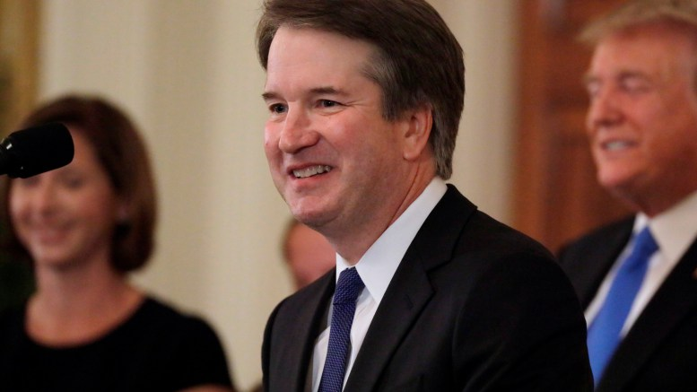 All eyes now fixed on Kavanaugh and Roe