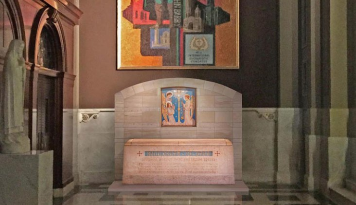 St. Katharine Drexel's tomb will be moved to Philadelphia cathedral