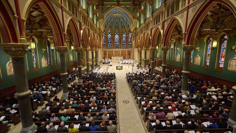 Cathedral of the Immaculate Conception's stunning restoration on display at Syracuse Arts and Crafts Festival