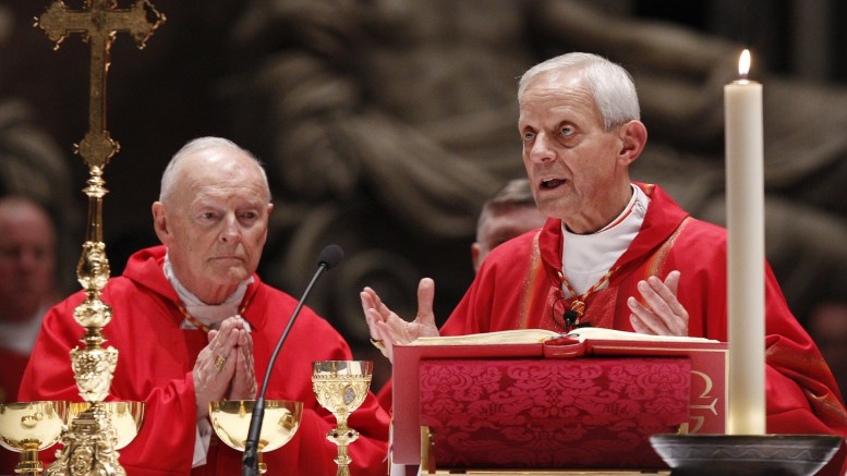 Cardinal Wuerl: Next steps in wake of Archbishop McCarrick allegations