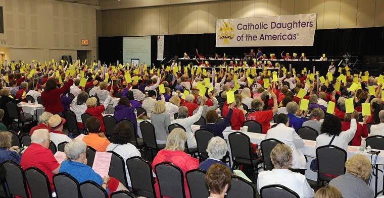Learning, leadership, sacredness all part of Catholic Daughters convention