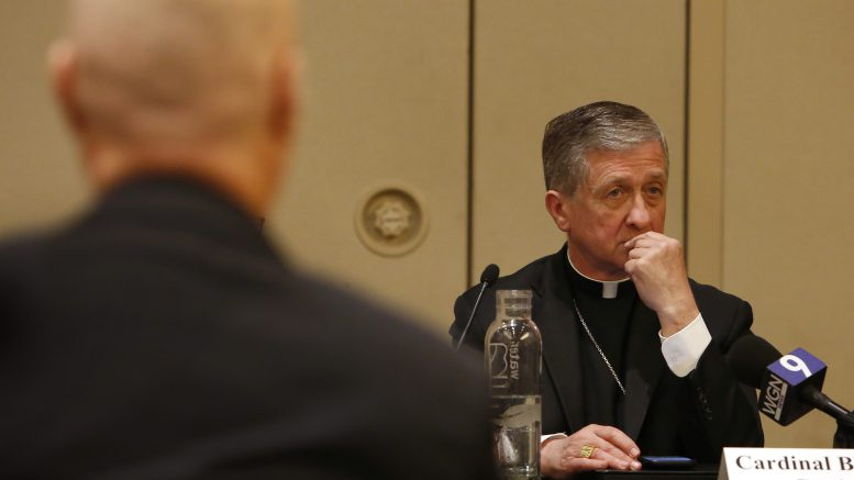 Cardinal Cupich: Death penalty can't 'rebalance the scales of justice'