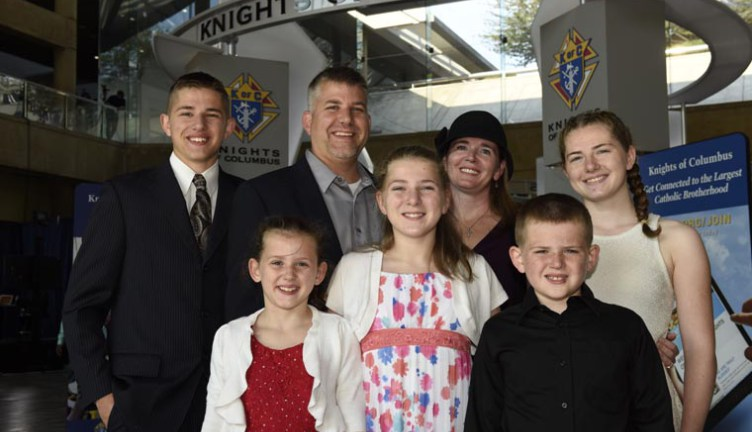 God's 'persistent' voice spurs Knights Family of the Year to serve others