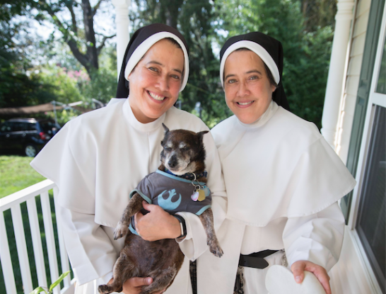 New assignments, but same joyful service for identical twin Dominicans