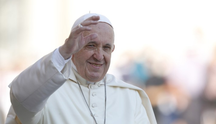 Facing facts, coming to terms with one's past bring peace, pope says
