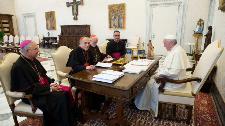 U.S. bishops tell pope abuse scandal 'lacerated' the church