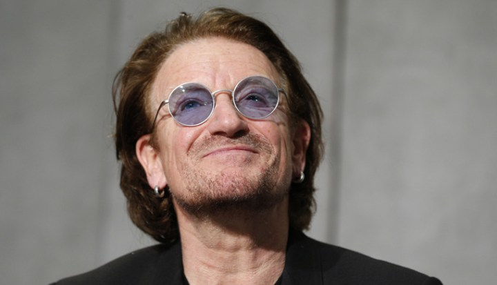 Irish Singer Bono Calls Pope 'Extraordinary Man For Extraordinary Times'