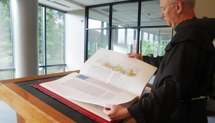Siena College sees edition of Saint John's Bible igniting faith on campus