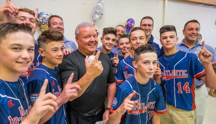 LLWS champions inducted into Binghamton shrine: Rumble Ponies honor2016 M-E squadthat won it all