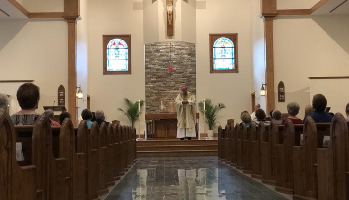 Memorial of Our Lady of Sorrows marked with Mass of Forgiveness