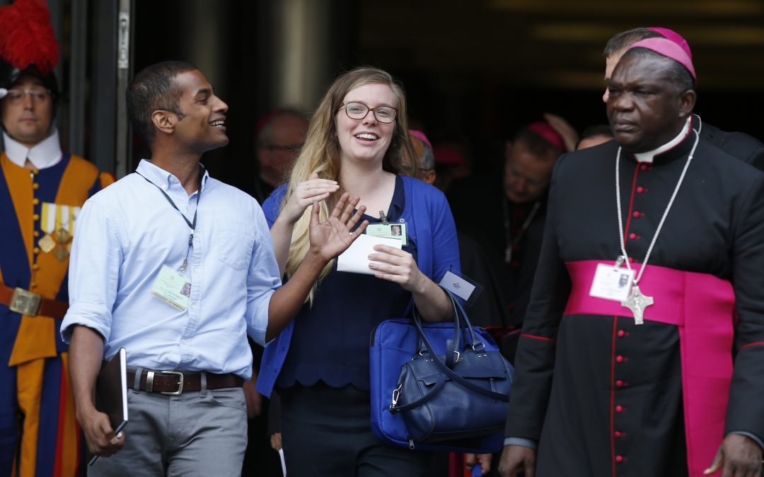 At synod, young people call for more involvement, representation