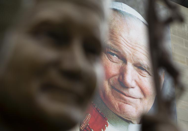 St. John Paul II still challenges Catholics to be holy, pope says