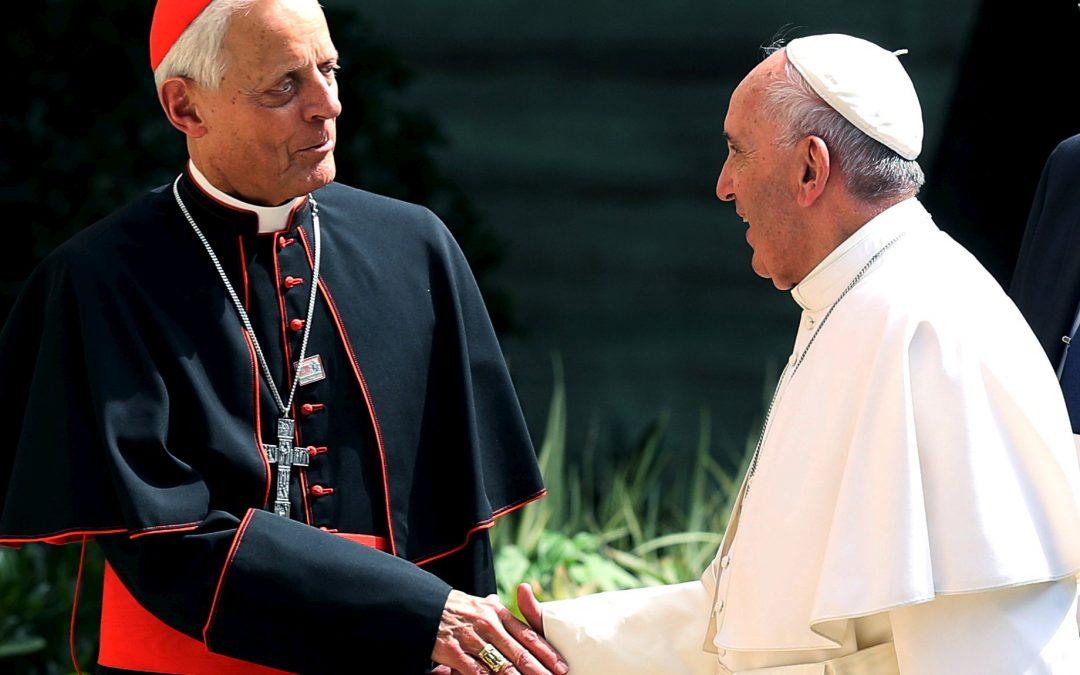 Pope accepts Cardinal Wuerl's resignation as Washington archbishop