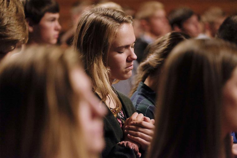 God's love 'real, profound' and can change your life, speaker tells youth